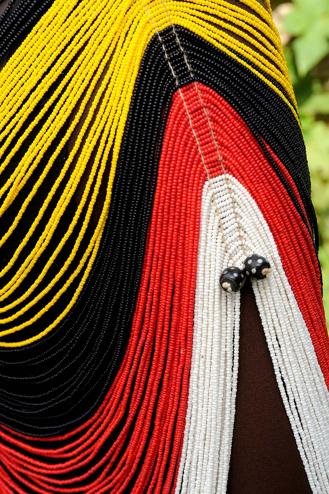 South Sudan_roots project mary padar_dinka corset detail_2012
